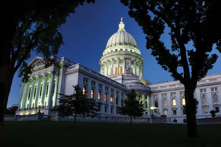 Wisconsin Capitol.