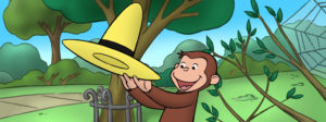 Invite Curious George into your Thanksgiving