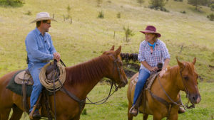 Around the Farm Table blog: Saddle up!