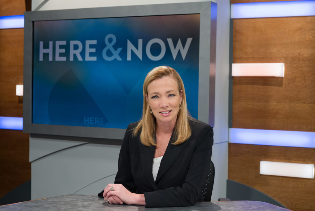 Here & Now anchor Frederica Freyberg