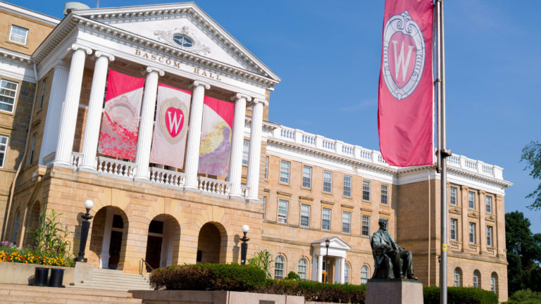 UW-Madison's Bascom Hall Aug. 3, 2014. (Courtesy: Phil Roeder)