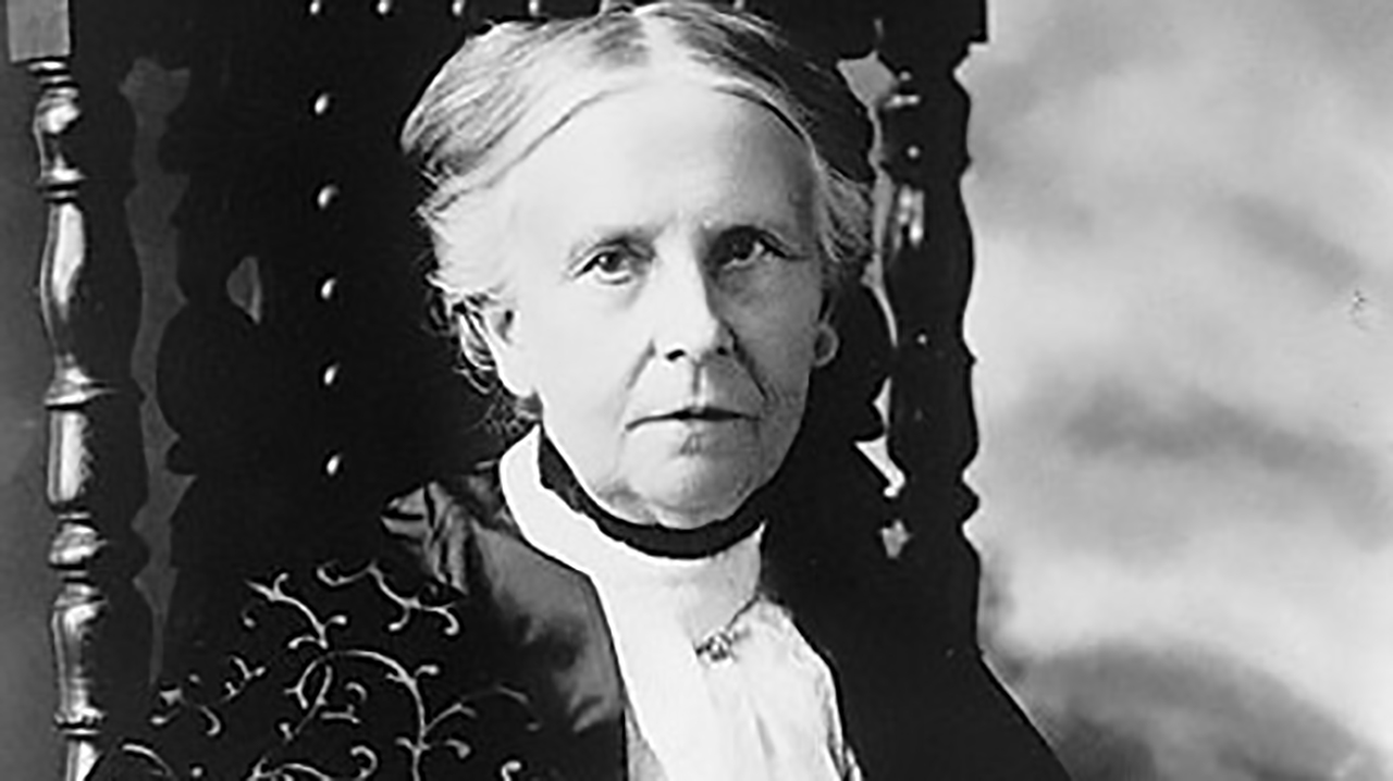 Portrait of Olympia Brown, Wisconsin suffragist