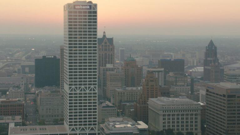 Milwaukee skyline.