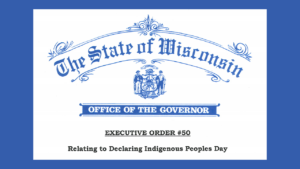 The Wisconsin State Executive Order seal