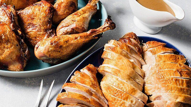 turkey and sliced bread