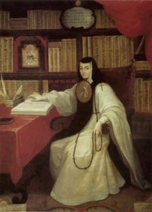 A 17th century portrait of a young Mexican nun