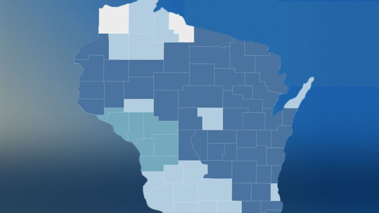 Wisconsin 2021 spring primary map
