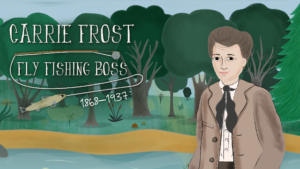 New PBS Wisconsin Education Resource Explores Life of Fly Fishing Entrepreneur Carrie Frost