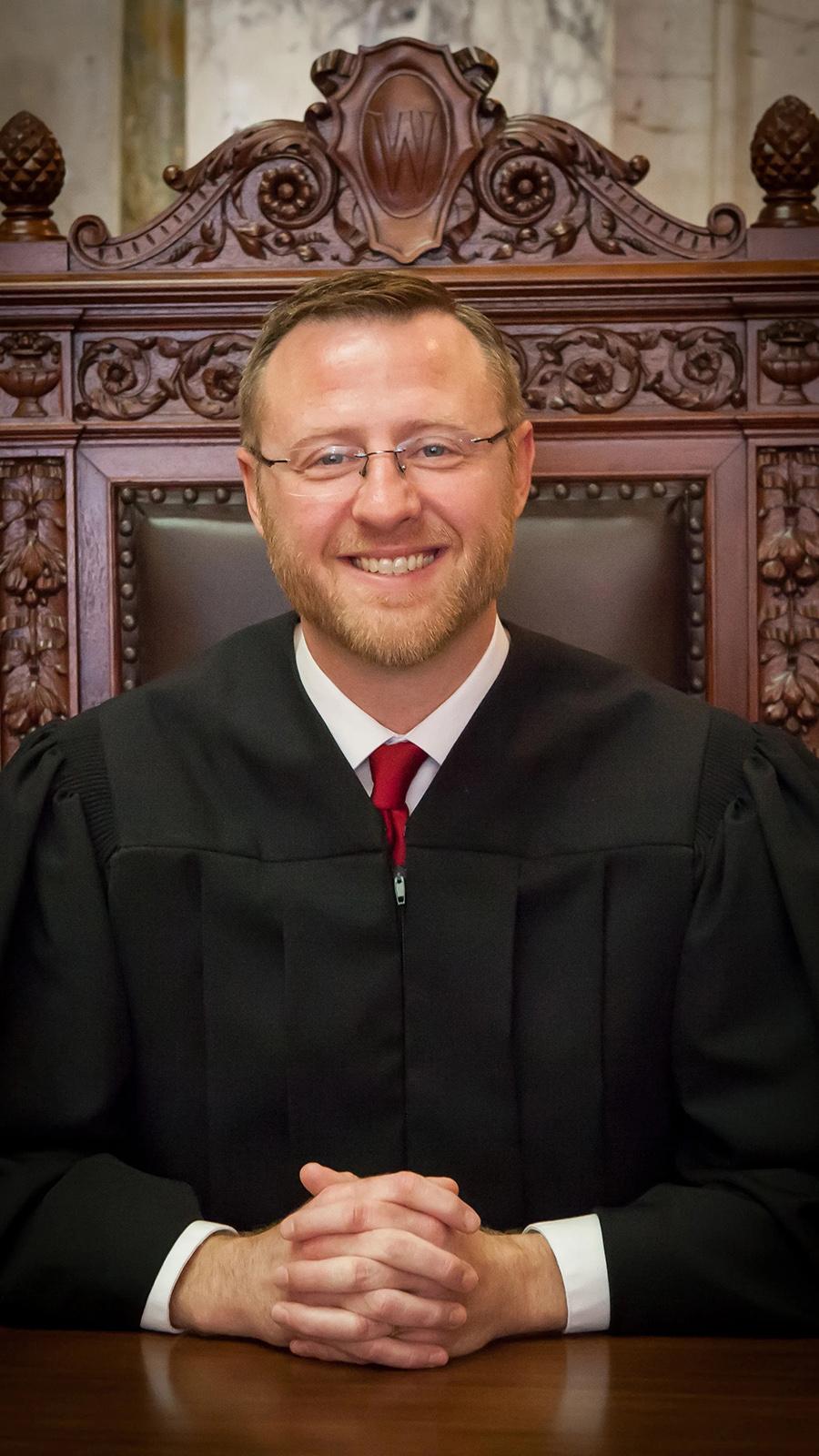 Portrait of Wisconsin Supreme Court Justice Brian Hagedorn