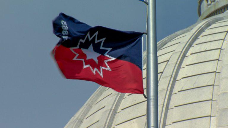 Juneteenth flag flies over Wisconsin Capitol dome