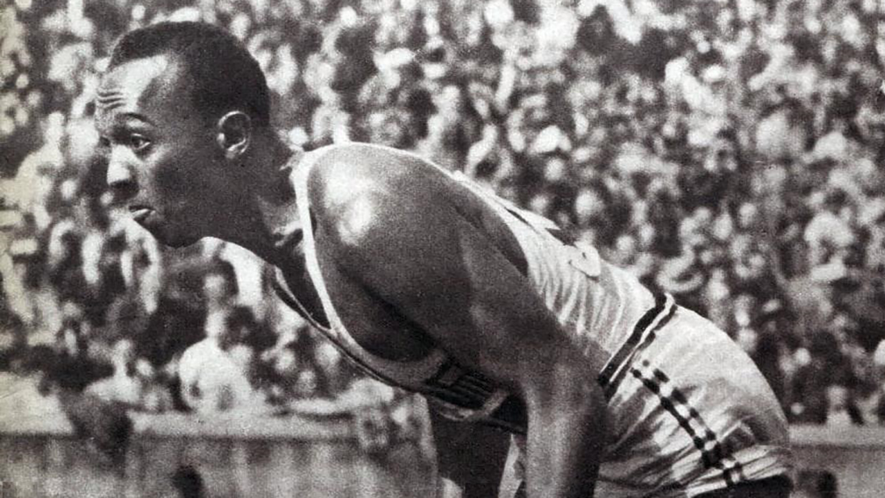 Olympic Runner Jesse Owens at the 1936 Games