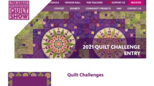 Fun Challenges and Beautiful Exhibits of the Virtual 2021 Great Wisconsin Quilt Show